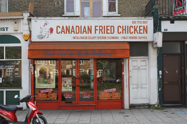 Canadian Fried Chicken Store Front