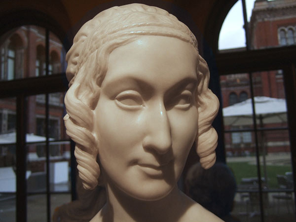 At the V&A there is a statue that resembles…