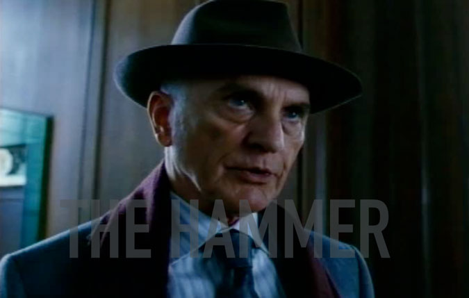 In the film 'The Adjustment Bureau', there is a character named 'The Hammer'